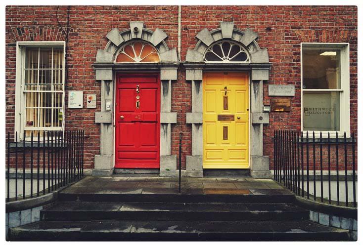 2 Doors - real estate or loans