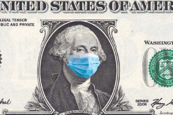 Benjamin Franklin in mask