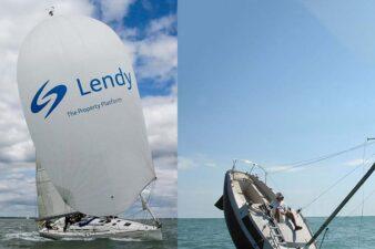 Lendy sinking yacht