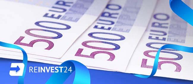 Reinvest24 Affiliate program - Become a user