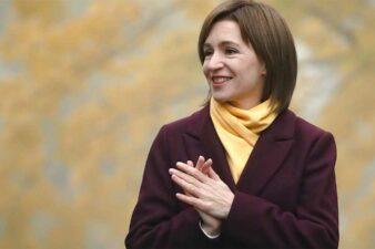 Maia Sandu - President of Moldova