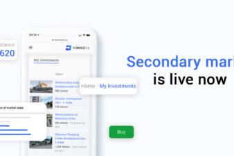 Reinvest24 secondary market