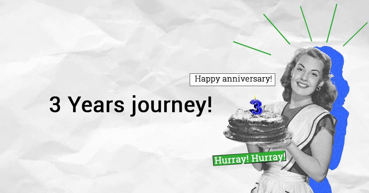 3 years anniversary Reinvest24